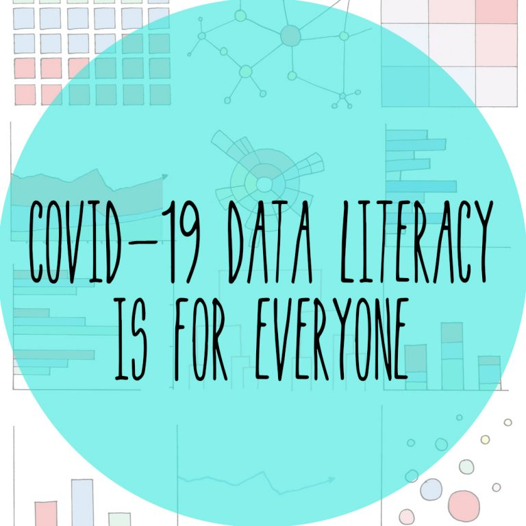 COVID-19 Data Literacy is for Everyone: A research webcomic on Nightingale